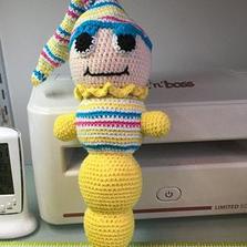 Glow Worm Crochet Doll