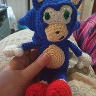 Sonic The Hedgehog Crochet Doll
