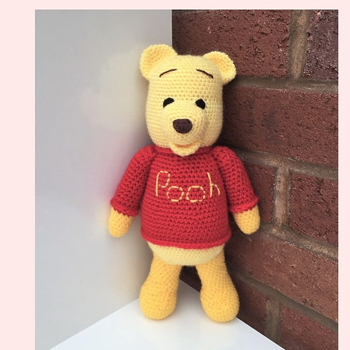 Winnie the Pooh Bear Crochet Pattern - Unofficial