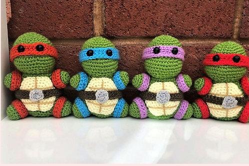 Teenage Mutant Ninja Turtles Crochet Pattern - Unofficial