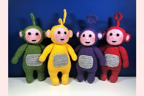 The Teletubbies Crochet Pattern - Unofficial