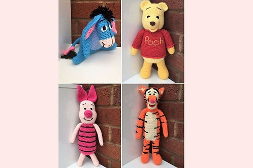 Winnie The Pooh Crochet Collection - Unofficial