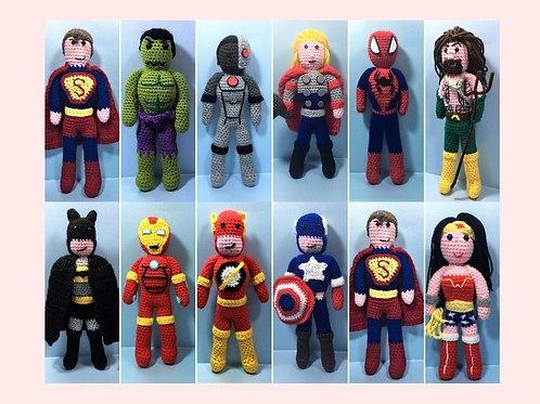 Superhero Crochet Collection