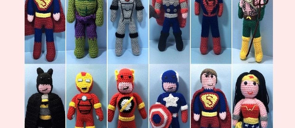 Superhero Mega Bundle Crochet Collection