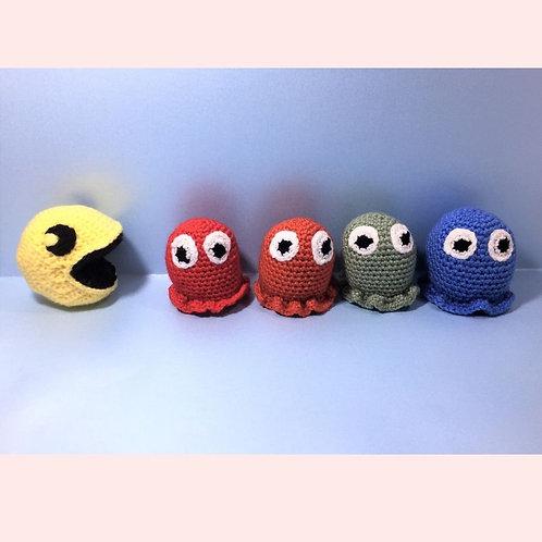 Pac-Man Crochet Pattern