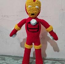 Ironman Crochet Doll