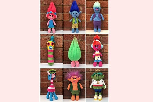Trolls Crochet Collection - Unofficial