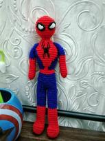 Spiderman Crochet Doll