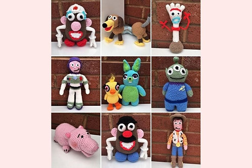 Toy Story Crochet Patterns - Unofficial