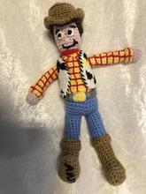 Woody Crochet Doll