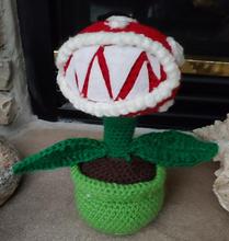 Pirahna Plat Crochet Doll