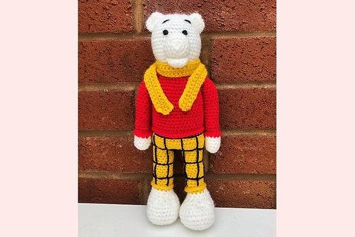 Rupert The Bear Crochet Pattern - Unofficial