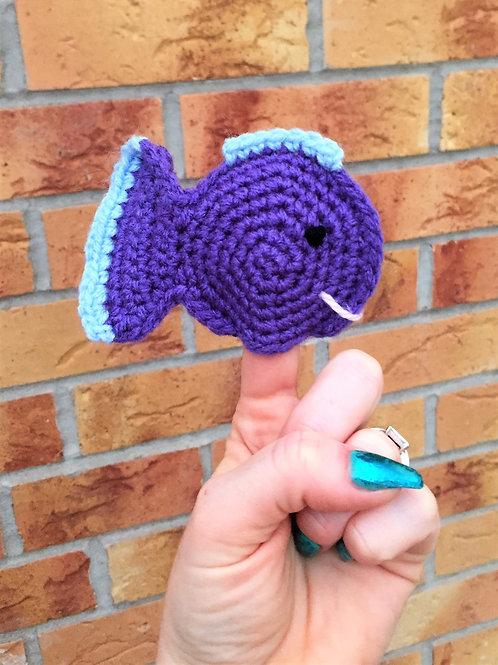 Fish Finger Puppet Crochet Pattern