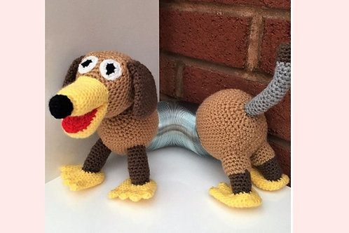 Slinky Dog Crochet Pattern - Unofficial