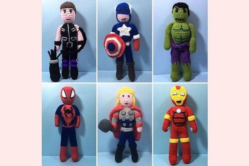 The Avengers Crochet Pattern - Unofficial