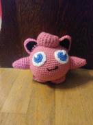 Jigglypuff Crochet Doll