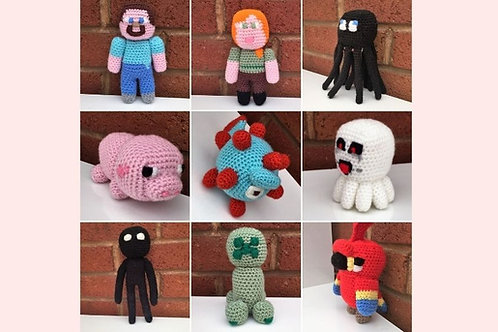 Minecraft Crochet Pattern Collection - Unofficial
