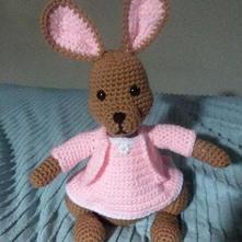 Peter Rabbit Crochet Doll