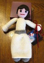 Princess Leia Crochet Doll
