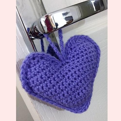Scented Heart Crochet Pattern