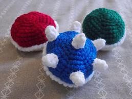 Super Mario Crochet Dolls