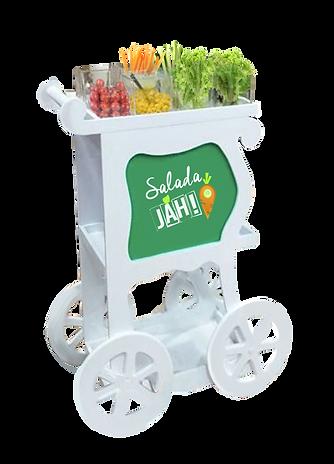 Carrinho Gourmet de Saladas