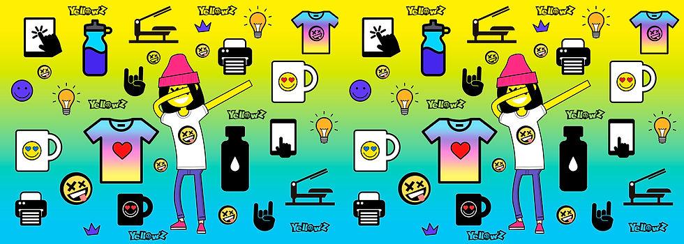 bonecos vetor YellowZ_color_background.j
