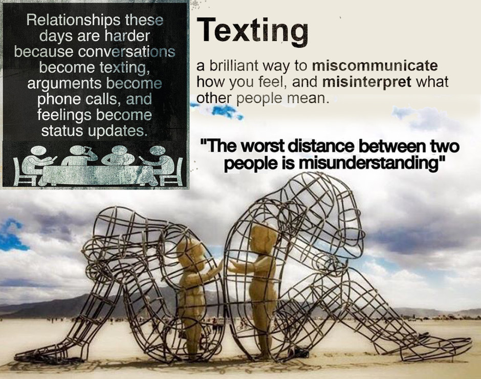 Effective Communication = understanding, connection, sharing, belonging, attunement, transformation,