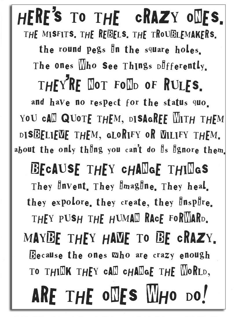 Steve Jobs, founder of Apple: