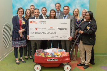 TPI Efficiency & Direct Energy Make $10K Donation to UH Rainbow Babies