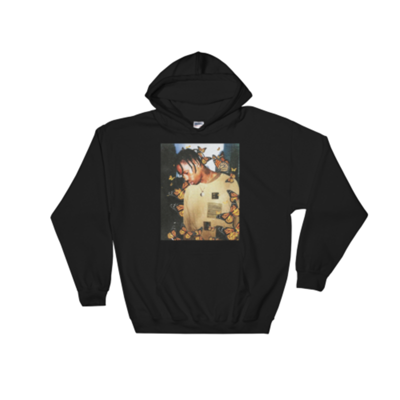 3840de48376f Travis Scott Butterfly Effech Merch Hoodie | laflame