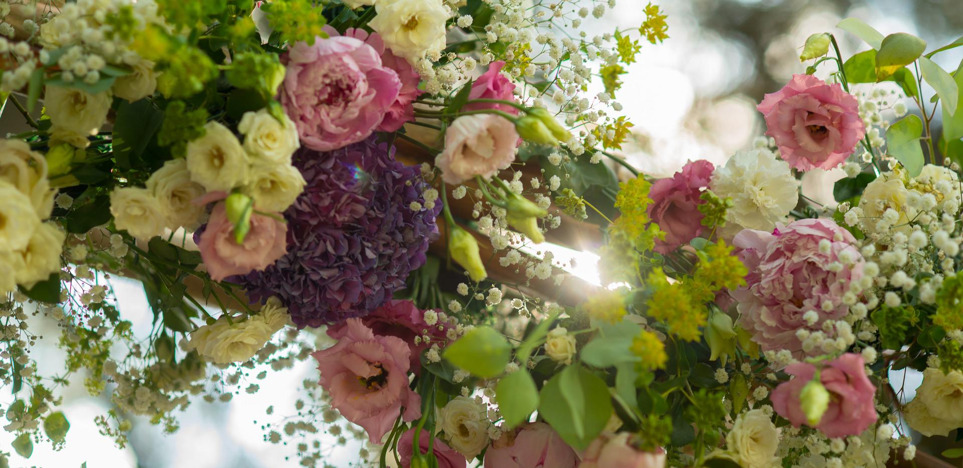 Bohemian wedding ceremony