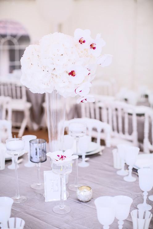 Luxury white party