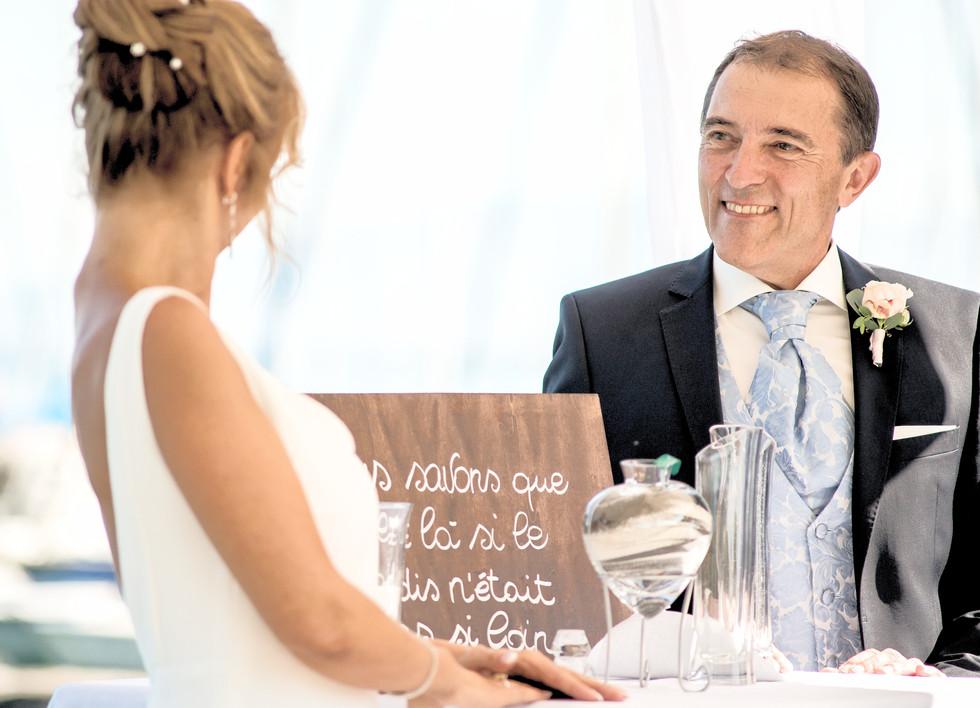 Swiss lake wedding