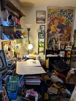 Studio Room Before (2/3)