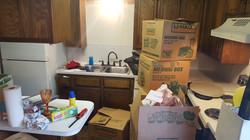 Kitchen Unpack Before (1/2)