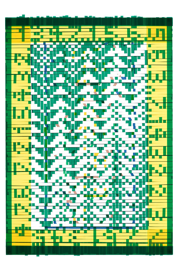 Zenith, 2021, Woven printed paper and coloured acetate, 42x29.7cm.jpeg