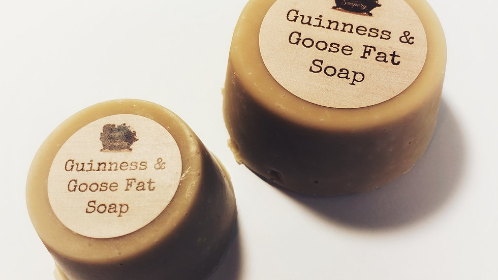 Guinness & Goose Fat Soap