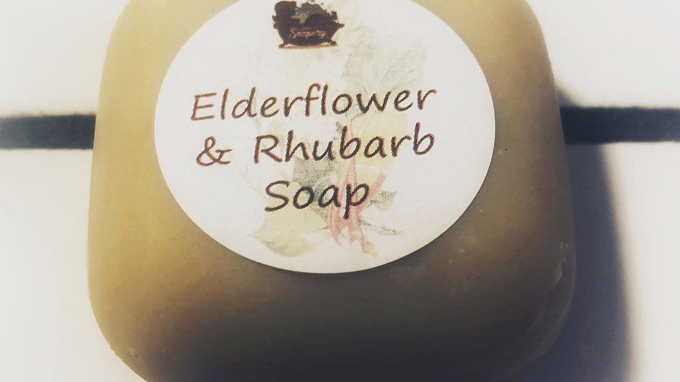 Elderflower & Rhubarb Soap