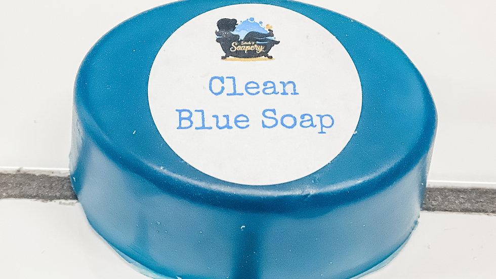 Clean Blue Soap