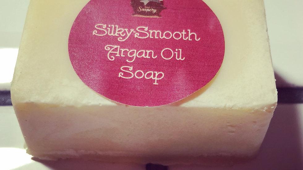 Silky-Smooth Argan Oil Soap
