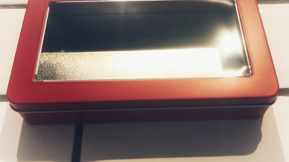 Red Gift Tin