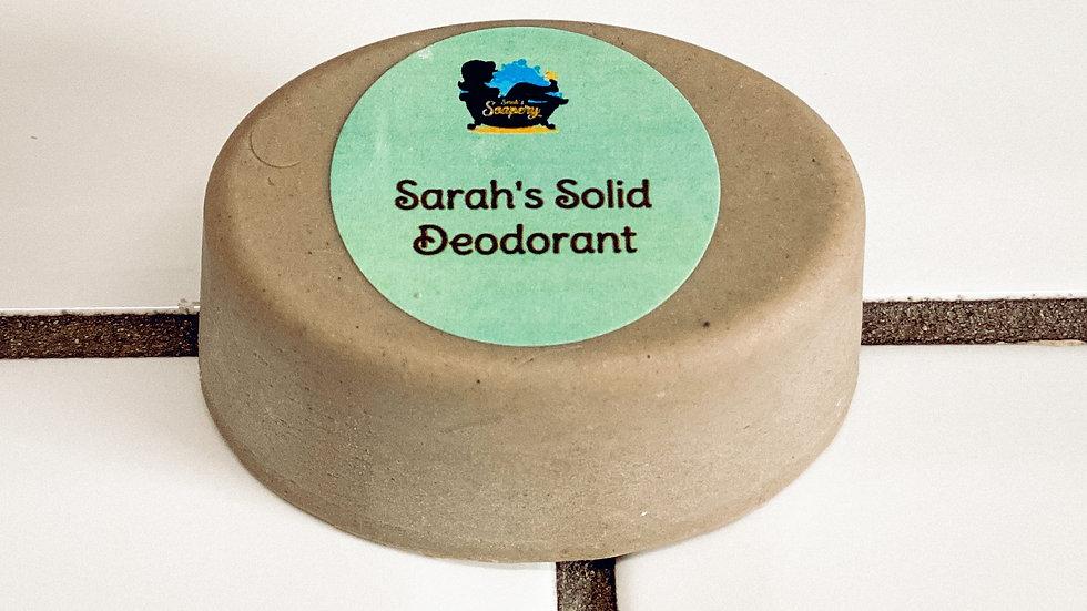 Sarah's Solid Deodorant Recipe