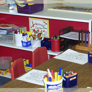 Writing- Develop fine motor skills including letter and number writing, cutting, tracing, coloring, and collaging.