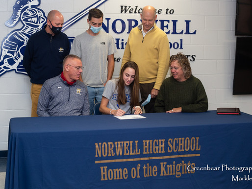 Norwell's Shelton signs with Bethel
