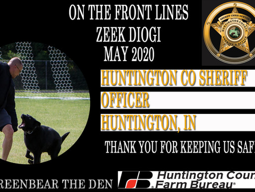 Greenbear The Den Introduces THE WALL OF HONOR