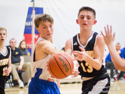 Southern Wells vs South Adams Boys Middle School Basketball Video Clips