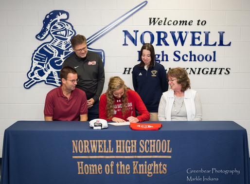IWU Signs Norwell's Barger