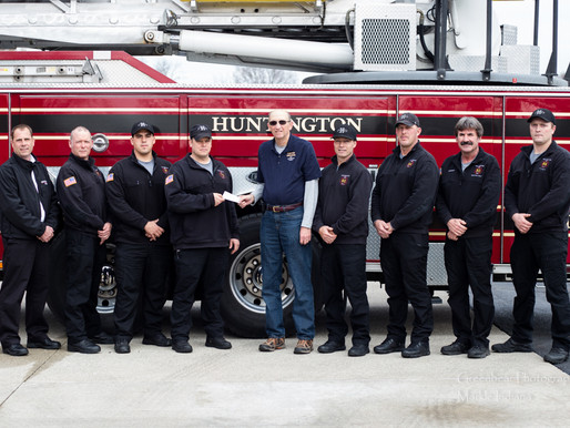 Huntington Firefighters helping in the fight against Cancer
