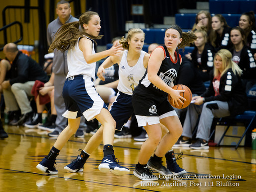 Tis the season Norwell scrimmage Bluffton ladies basketball